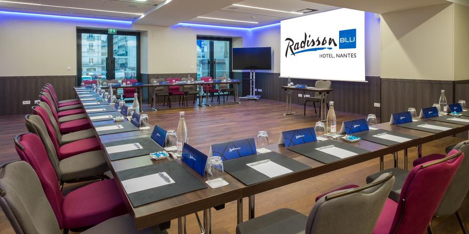 Radisson Blu Hotel Nantes Salle De S U00e9minaire Et R U00e9union  U00e0